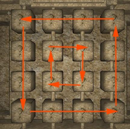 tiles rotation